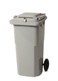 32 or 64 Gallon Container for document shredding