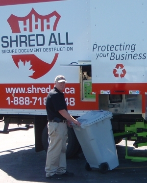 Jim Miller of Shred All and Document Shredding Truck